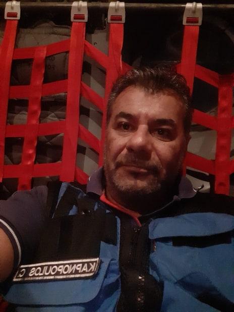 Χαράλαμπος Καπνόπουλος - Διασώστης