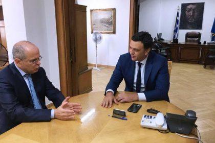 Συνάντηση Κικίλια με τον Ισραηλινό πρέσβη