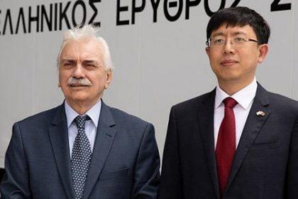 Η Κίνα προσφέρει 130.000 μάσκες στον Ελληνικό Ερυθρό Σταυρό