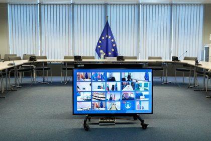 Τηλεδιάσκεψη της ελληνικής προεδρίας του Συμβουλίου της Ευρώπης