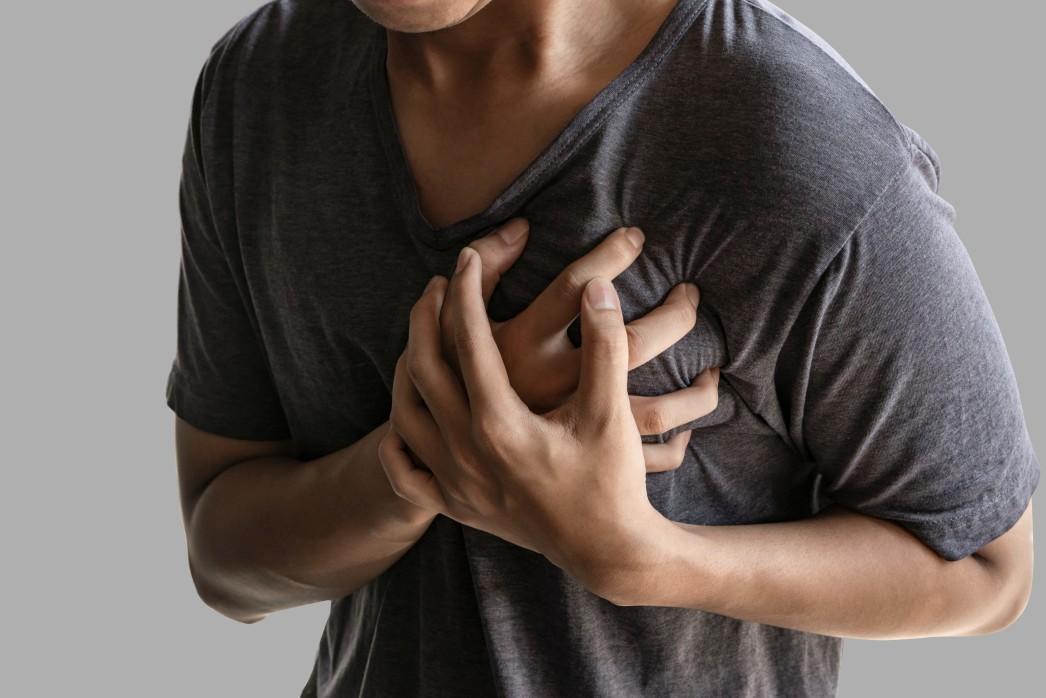 Καρδιά έμφραγμα άντρας