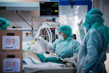 Ιατρικό προσωπικό σε ΜΕΘ