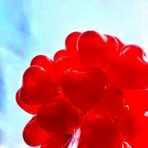 αιματοκρίτης κόκκινα μπαλόνια καρδιές