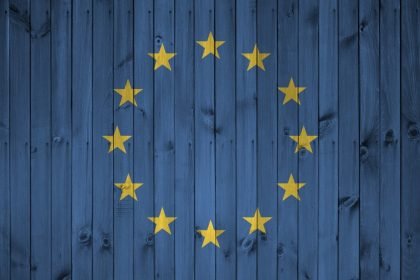 Ε.Ε Ευρώπαική σημαία στρατηγική για Χριστούγεννα