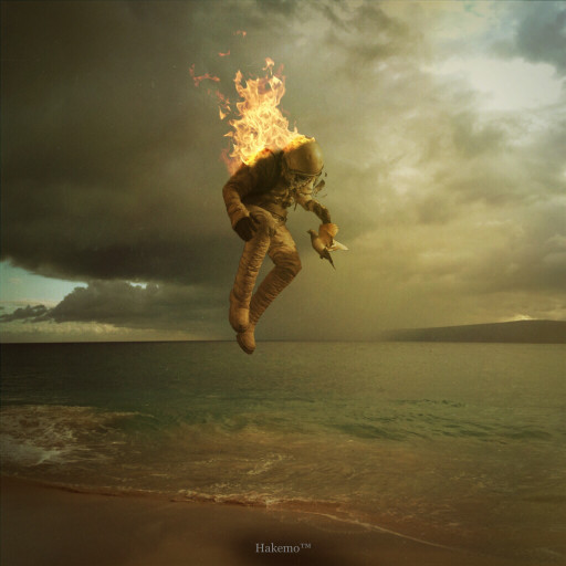 πυρομανία άνθρωπος που έχει πάρει φωτιά