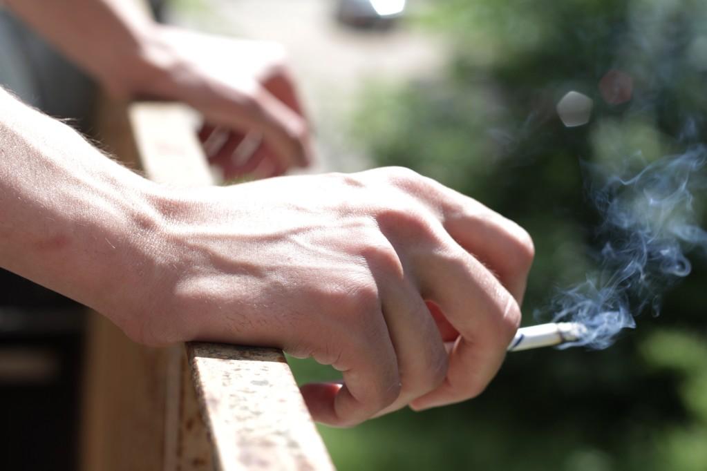 Καπνιστές τσιγάρο