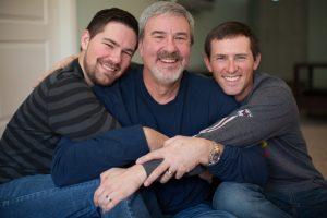 Πατέρας με τους δυο γιους του