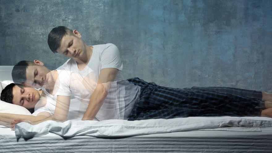Άνθρωπος που κοιμάται «βγαίνει» από το σώμα του