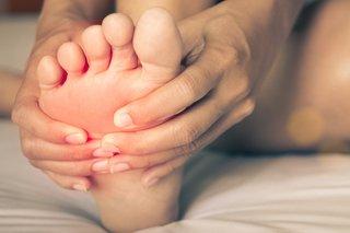 Διαβήτης συμπτώματα στα πόδια - Σημείο πόνου