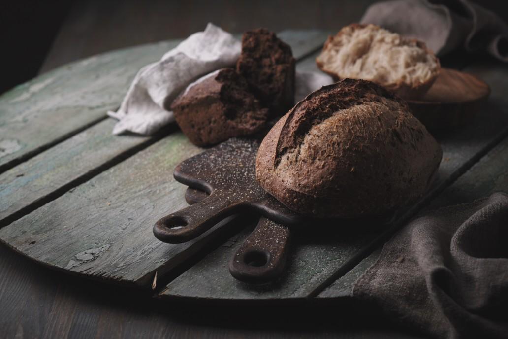 Ψωμί με γλουτένη