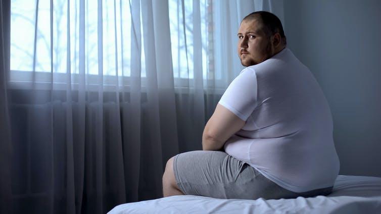 Υπέρβαρος άνδρας