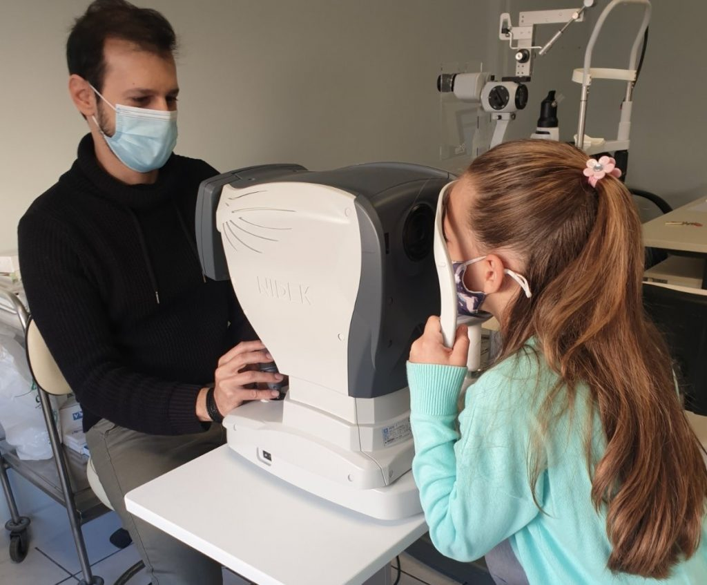 οφθαλολογικός έλεγχος παιδιού