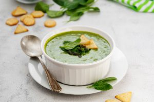 δίαιτα συνταγές πράσινη σούπα βελουτέ