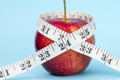 μήλο μέτρηση βάρους παχυσαρκία
