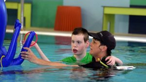 Κολύμβηση σε παιδιά με νοητική υστέρηση