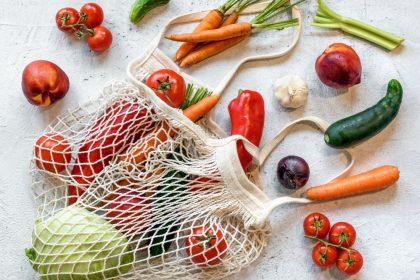 ευερέθιστο έντερο τροφές λαχανικά σε τσάντα
