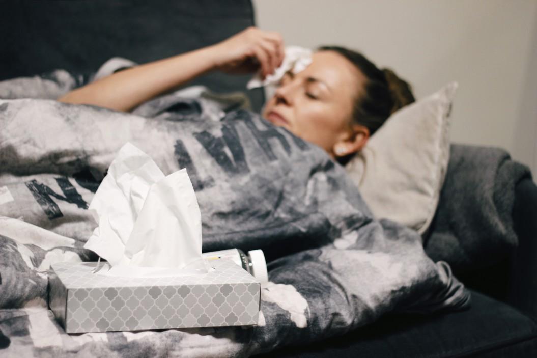 Άρρωστη γυναίκα