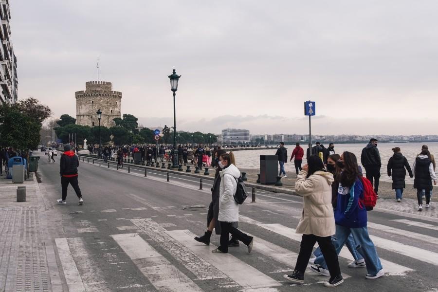 Βρετανικού στελέχους - Θεσσαλονίκη