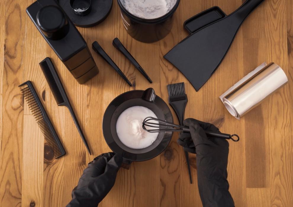 Εργαλεία για βάψιμο μαλλιών