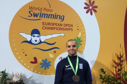 Παναγιώτης Χριστάκης: O «χάλκινος» πρωταθλητής του Ευρωπαϊκού Πρωταθλήματος Κολύμβησης της Μαδέιρα