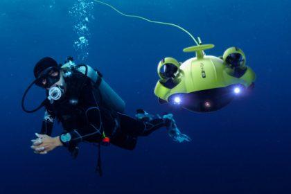 Eπιστήμονες δημιουργούν υποβρύχιο ρομπότ για να σώζει ανθρώπους που πνίγονται