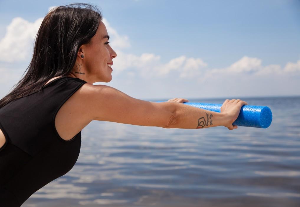 Άσκηση στη θάλασσα