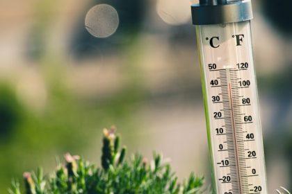 μέτρα προστασίας για τον καύσωνα θερμόμετρο