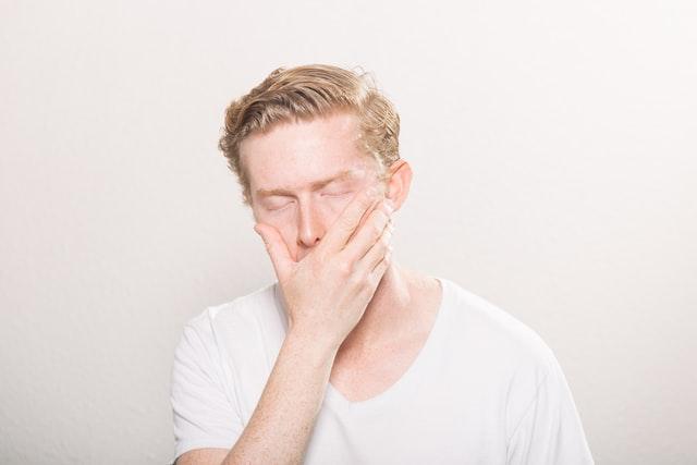 Άρρωστος άνδρας