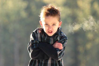διαταραχή διαγωγής παιδί θυμωμένο