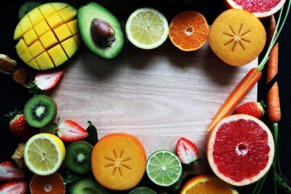 φρούτα και λαχανικά ευτυχία