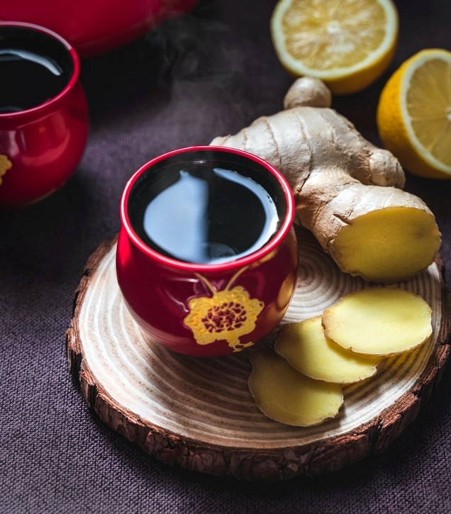 τσάι τζίντζερ