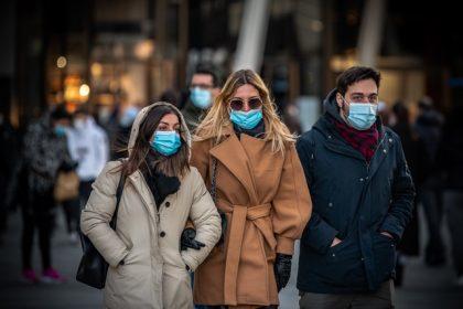 Πανδημία - Φοράμε μάσκες