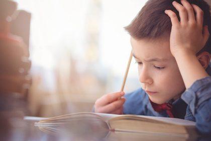 παιδί με δυσλεξία